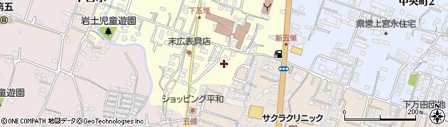 大分県中津市上宮永335周辺の地図