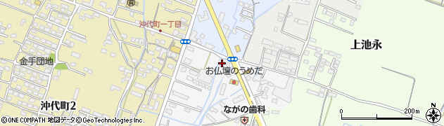 大分県中津市金手38周辺の地図