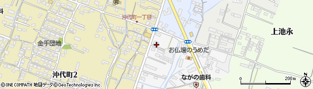 大分県中津市金手47周辺の地図