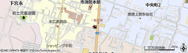 大分県中津市上宮永495周辺の地図