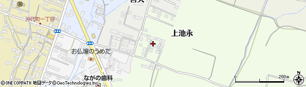 大分県中津市上池永1211周辺の地図