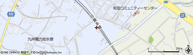 大分県中津市是則1226周辺の地図