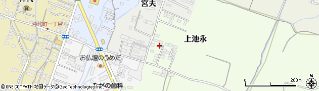 大分県中津市上池永1210周辺の地図
