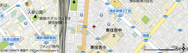 関門港湾建設株式会社 福岡支店周辺の地図