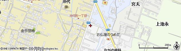 大分県中津市金手49周辺の地図