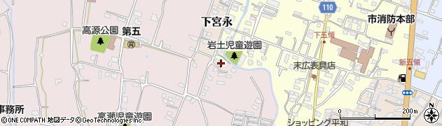 大分県中津市上宮永1296周辺の地図