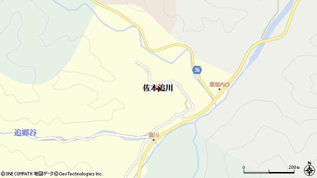 〒649-3162 和歌山県西牟婁郡すさみ町佐本追川の地図