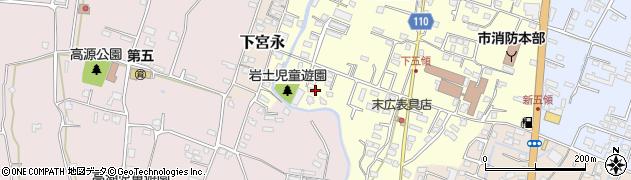 大分県中津市上宮永1003周辺の地図