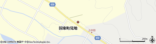 大分県国東市国東町見地673周辺の地図