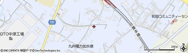 大分県中津市是則989周辺の地図