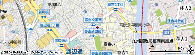 アールプラス周辺の地図