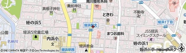 かつき土地建物周辺の地図
