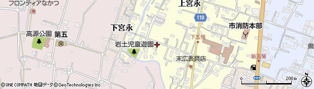 大分県中津市上宮永998周辺の地図
