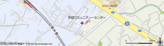 大分県中津市是則1396周辺の地図
