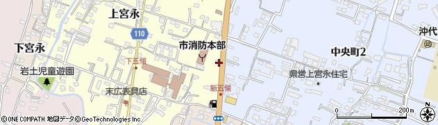 大分県中津市上宮永486周辺の地図