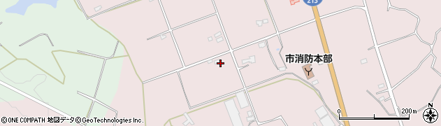 大分県国東市国東町北江3215周辺の地図