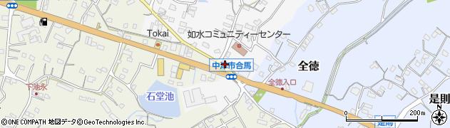 大分県中津市合馬470周辺の地図