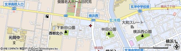 有限会社岩崎商店周辺の地図
