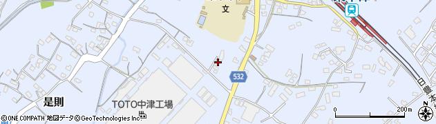 大分県中津市是則825周辺の地図