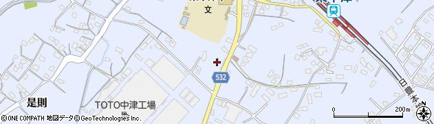 大分県中津市是則831周辺の地図