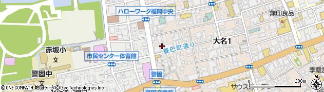 古賀知行法律事務所周辺の地図