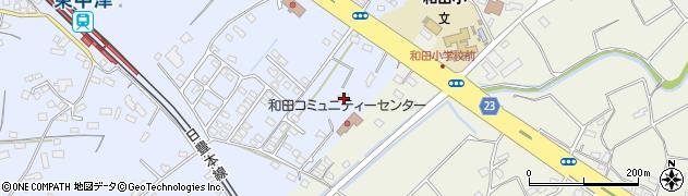 大分県中津市是則1366周辺の地図
