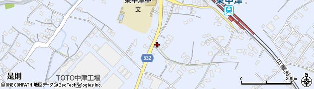 大分県中津市是則880周辺の地図