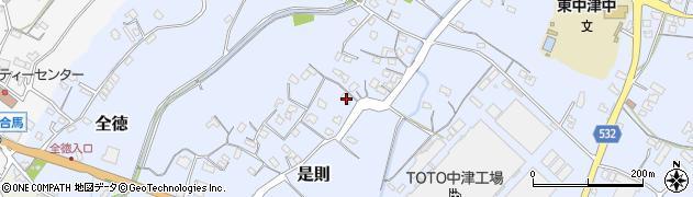 大分県中津市是則66周辺の地図