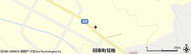 大分県国東市国東町見地781周辺の地図