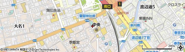 フェイスアンドサンズ周辺の地図