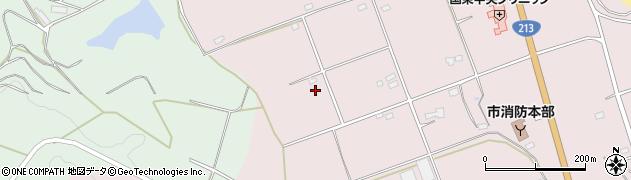 大分県国東市国東町北江3222周辺の地図