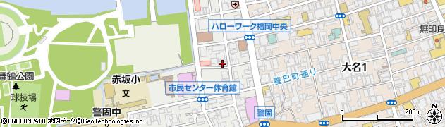 阿比留司法書士事務所周辺の地図
