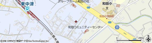 大分県中津市是則1394周辺の地図