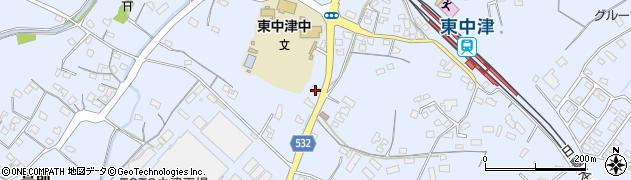 大分県中津市是則837周辺の地図