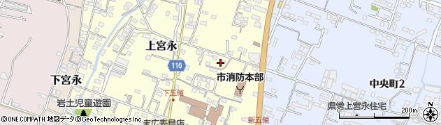 大分県中津市上宮永291周辺の地図