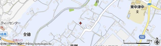 大分県中津市是則200周辺の地図