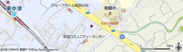 大分県中津市是則1364周辺の地図