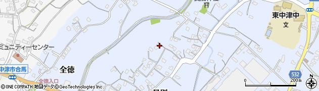 大分県中津市是則56周辺の地図