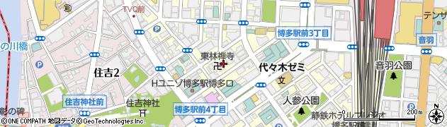 東林禅寺周辺の地図