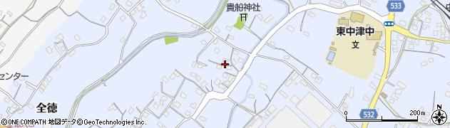 大分県中津市是則239周辺の地図