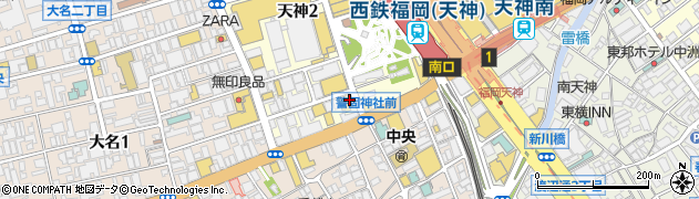 福永公認会計士事務所周辺の地図