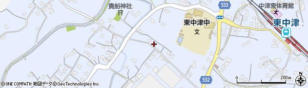 大分県中津市是則565周辺の地図
