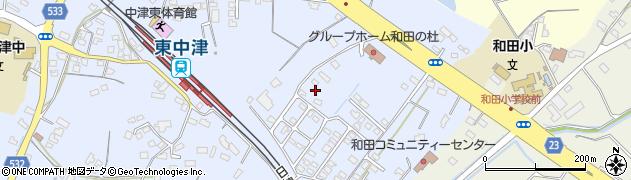 大分県中津市是則1375周辺の地図