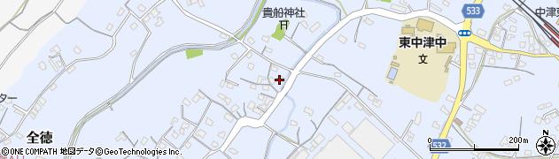 大分県中津市是則243周辺の地図