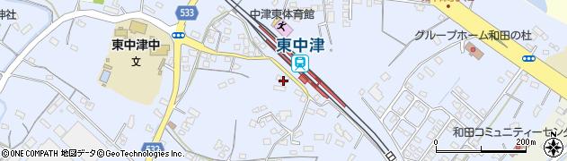 大分県中津市是則966周辺の地図