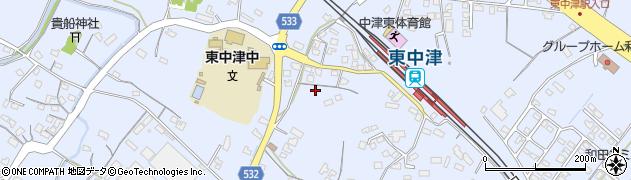 大分県中津市是則869周辺の地図