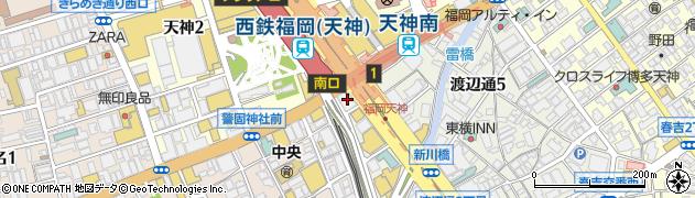 株式会社福岡補聴器センター周辺の地図