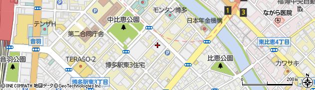 有限会社サウンドスペース 福岡店周辺の地図