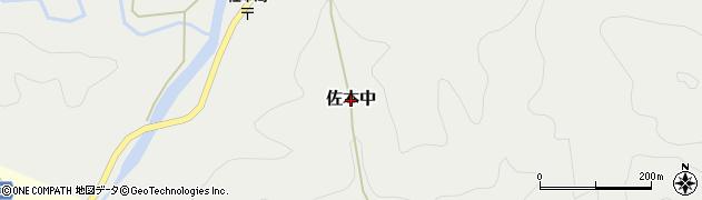 和歌山県すさみ町(西牟婁郡)佐本中周辺の地図