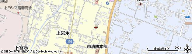 大分県中津市上宮永278周辺の地図